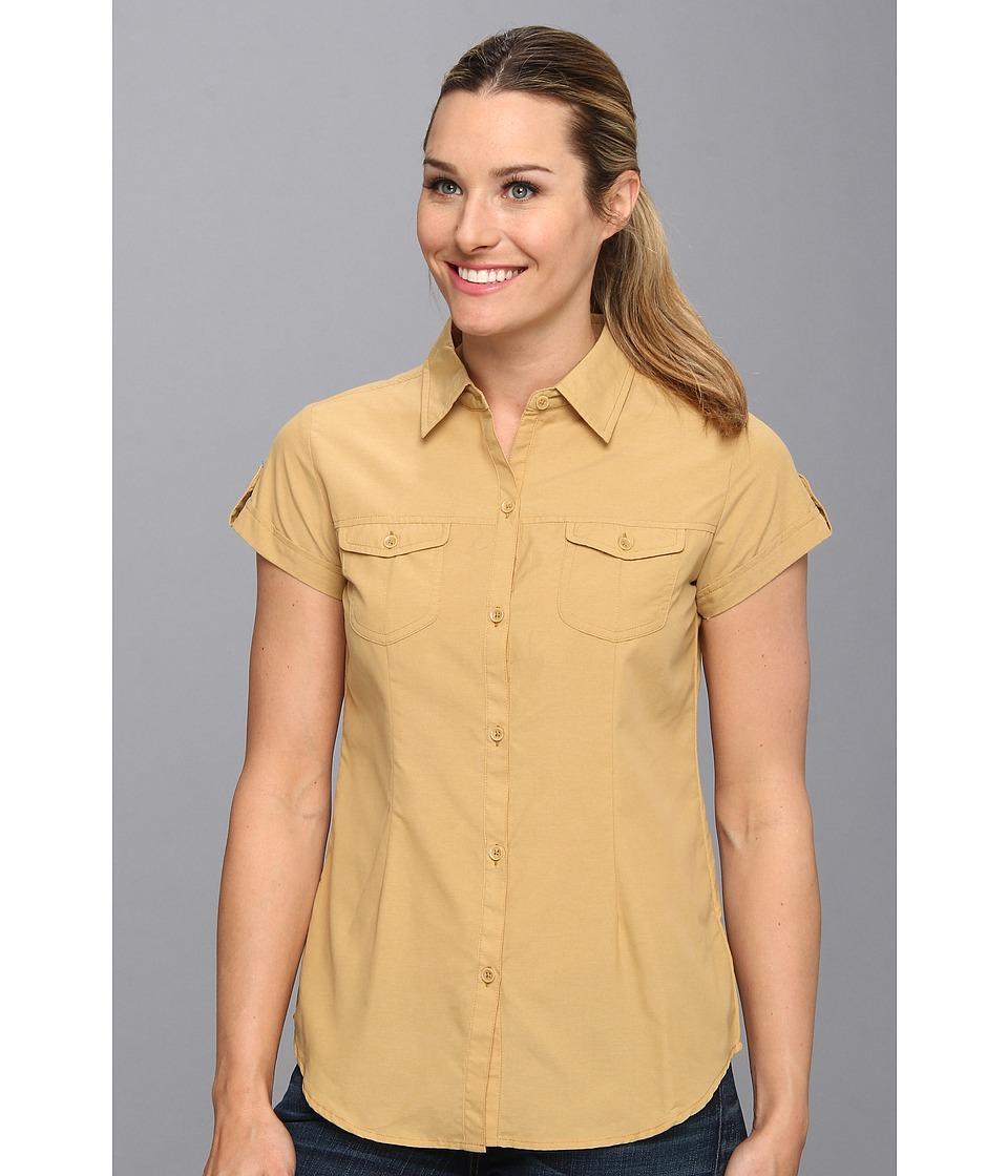 ExOfficio - Dryflylite Cap Sleeve (Chai) Women's Clothing