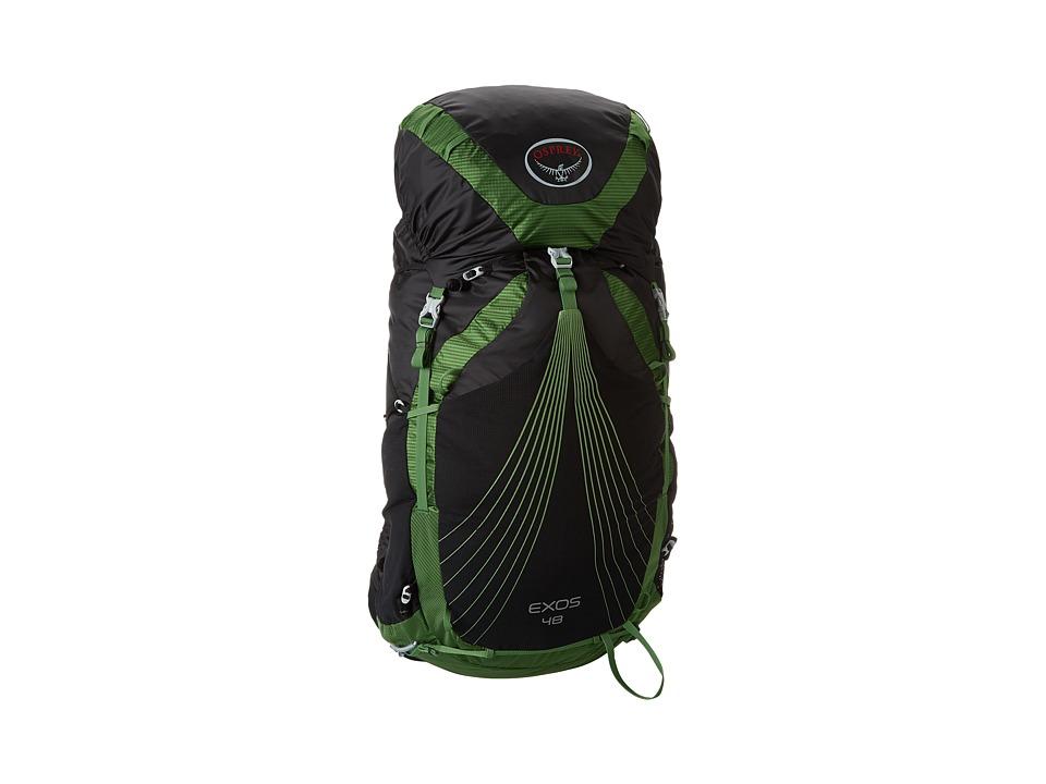 Osprey - Exos 48 (Basalt Black) Day Pack Bags