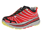 Hoka One One Stinson Trail (Red/Light Grey/Black) Men's Running Shoes