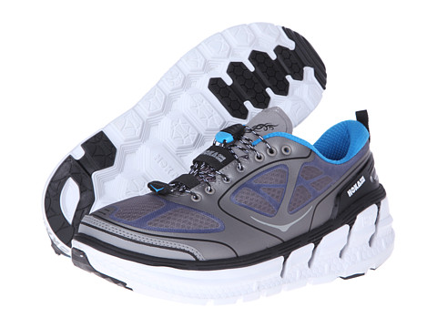 Hoka One One - Conquest (Frost Grey/Blue/White) Men's Running Shoes