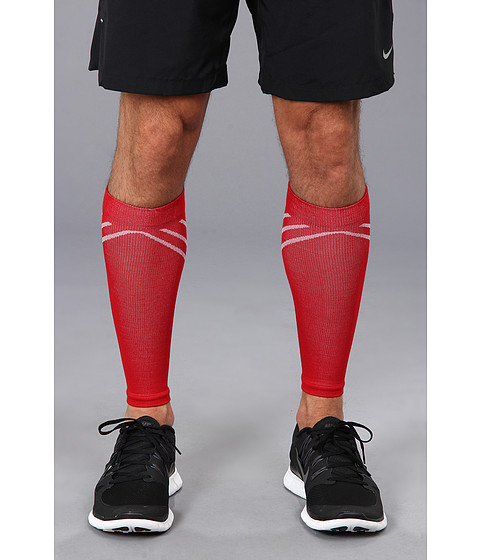 Smartwool - PhD Compression Calf Sleeve (Bright Red) Outdoor Sports Equipment