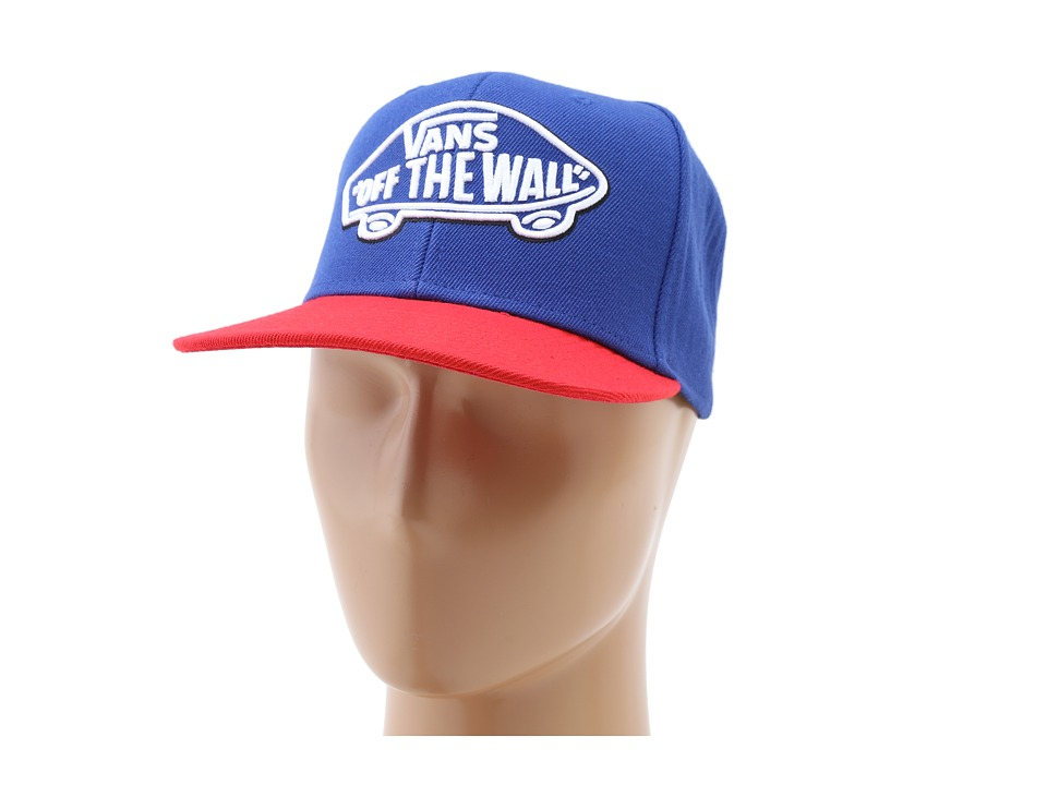 Vans - Home Team Snapback (Blue Depths/Reinvent Red) Caps