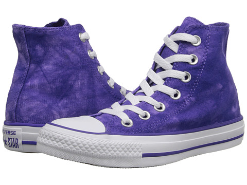 Converse Chuck Taylor All Star Tie Dye Hi (Nightshade/White) Athletic Shoes