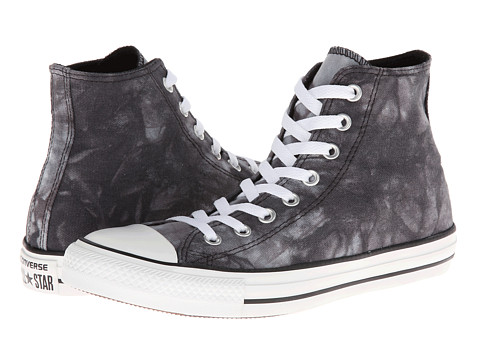 Converse - Chuck Taylor All Star Tie Dye Hi (Black/White) Athletic Shoes