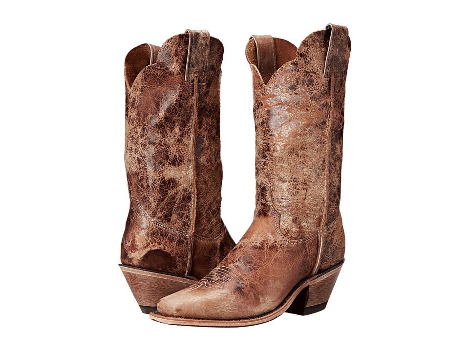 Justin - BRL122 (Tan Road) Cowboy Boots