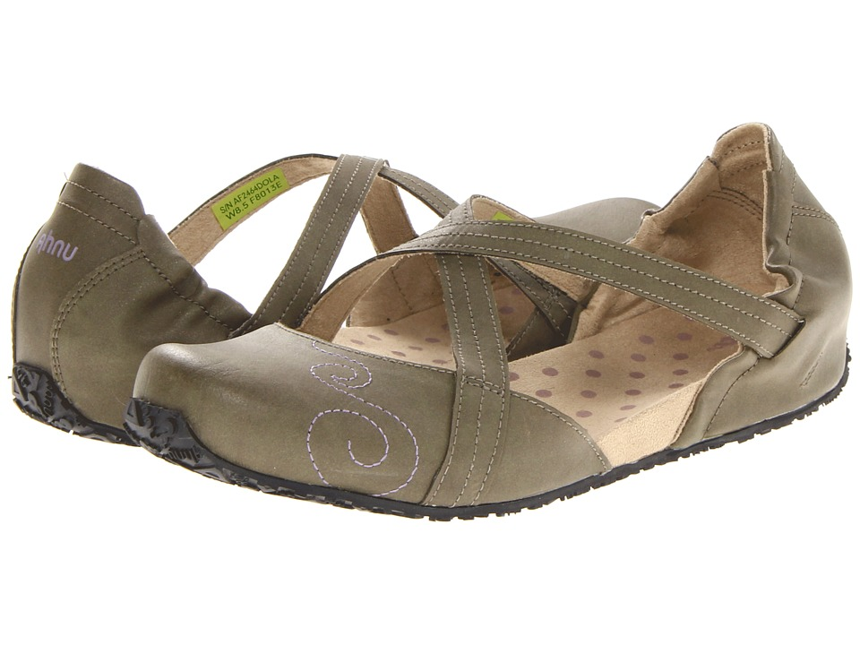 Ahnu - Good Karma (Dark Olive Vegan) Women's Shoes