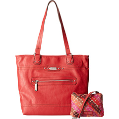 SALE! $46.99 - Save $32 on TYLER RODAN Gemini Reversible Tote (Cherry Pop Dot Bright) Bags and Luggage - 40.52% OFF $79.00