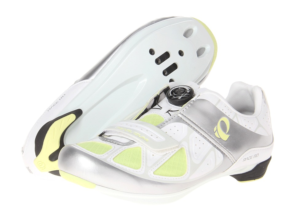 Pearl Izumi - W Race Rd III (White/Silver) Women's Cycling Shoes