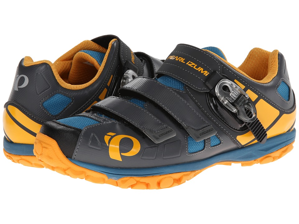 Pearl Izumi - X-Alp Enduro IV (Shadow Grey/Blazing Yellow) Men's Cycling Shoes