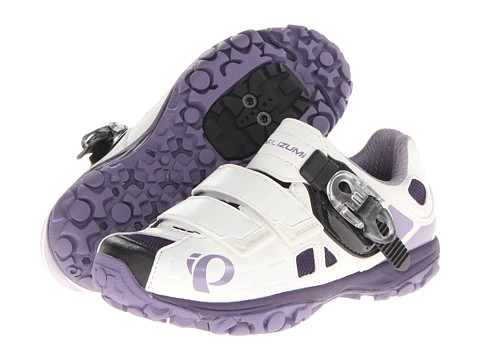Pearl Izumi - W X-Alp Enduro IV (White/Purple Haze) Women's Cycling Shoes