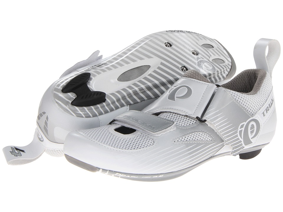 Pearl Izumi - W Tri Fly IV Carbon (White/White) Women's Cycling Shoes