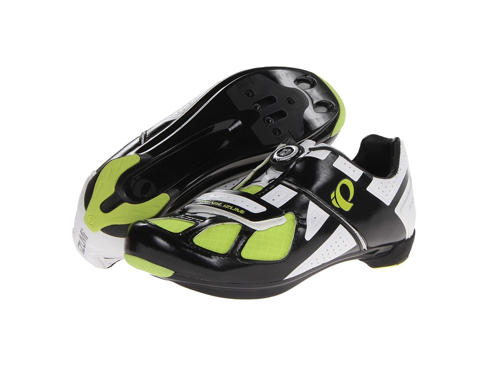 Pearl Izumi - Race Rd III (Black/White) Men's Cycling Shoes