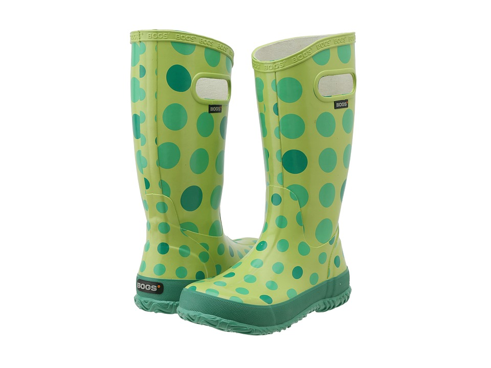 Bogs Kids - Dots (Toddler/Little Kid/Big Kid) (Green Multi) Girls Shoes