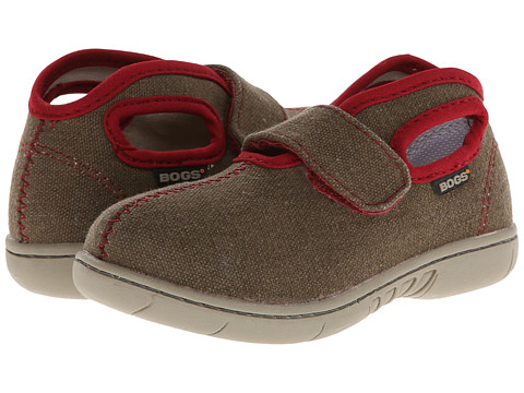 Bogs Kids - Baby Bogs Mid Canvas (Toddler) (Brown) Boys Shoes