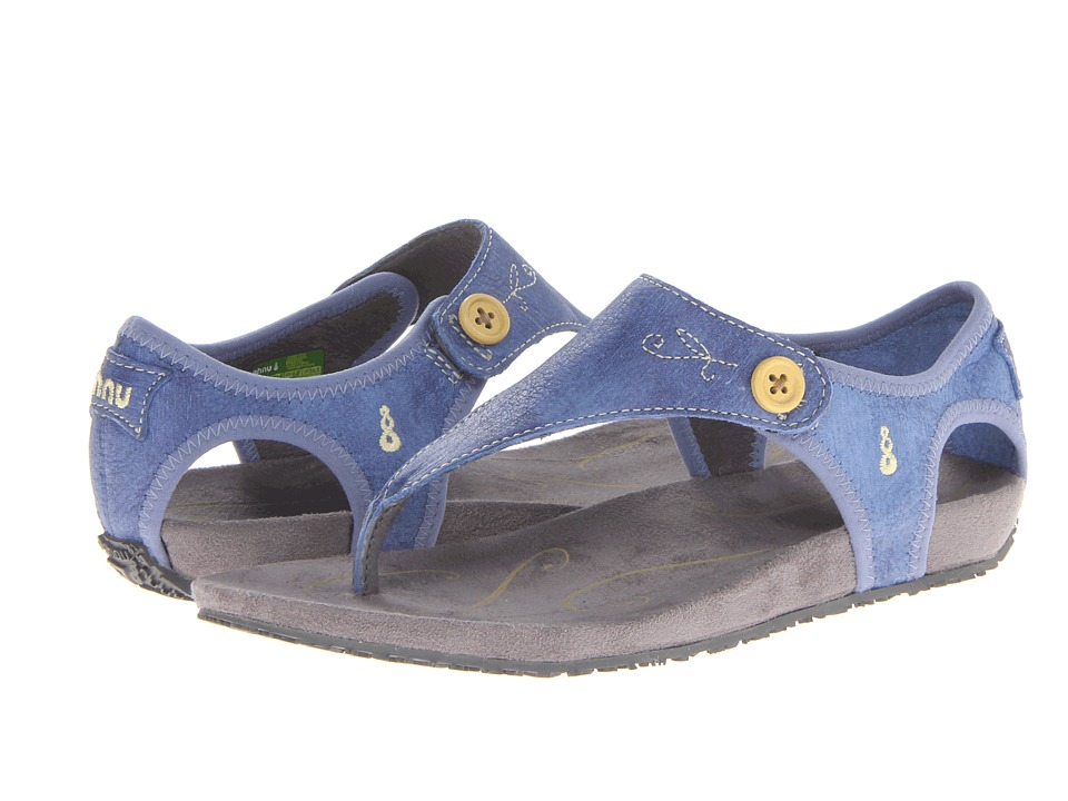 Ahnu - Serena (Colony Blue) Women's Toe Open Shoes