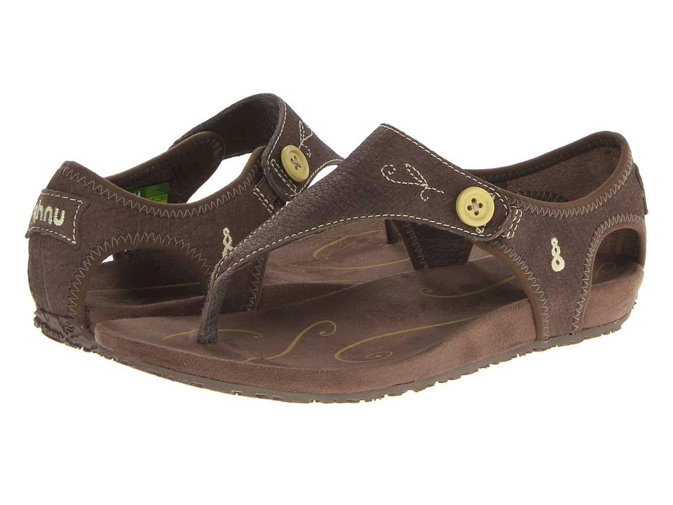 Ahnu - Serena (Chocolate Chip) Women's Toe Open Shoes