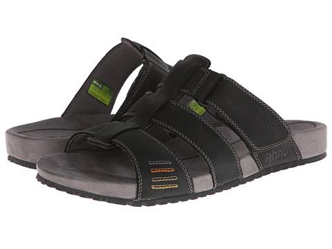 Ahnu - Fisher (Black) Men's Slide Shoes