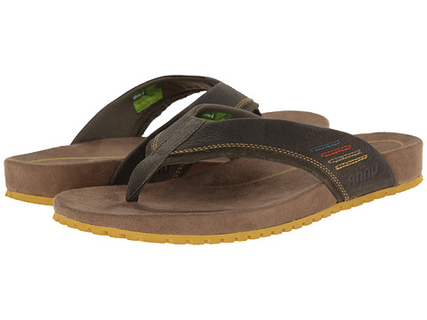 Ahnu - Simeon (Olive Night) Men's Sandals
