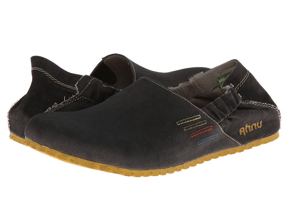 Image of Ahnu - Cruz (Charcoal Grey Vegan) Men's Slip on Shoes