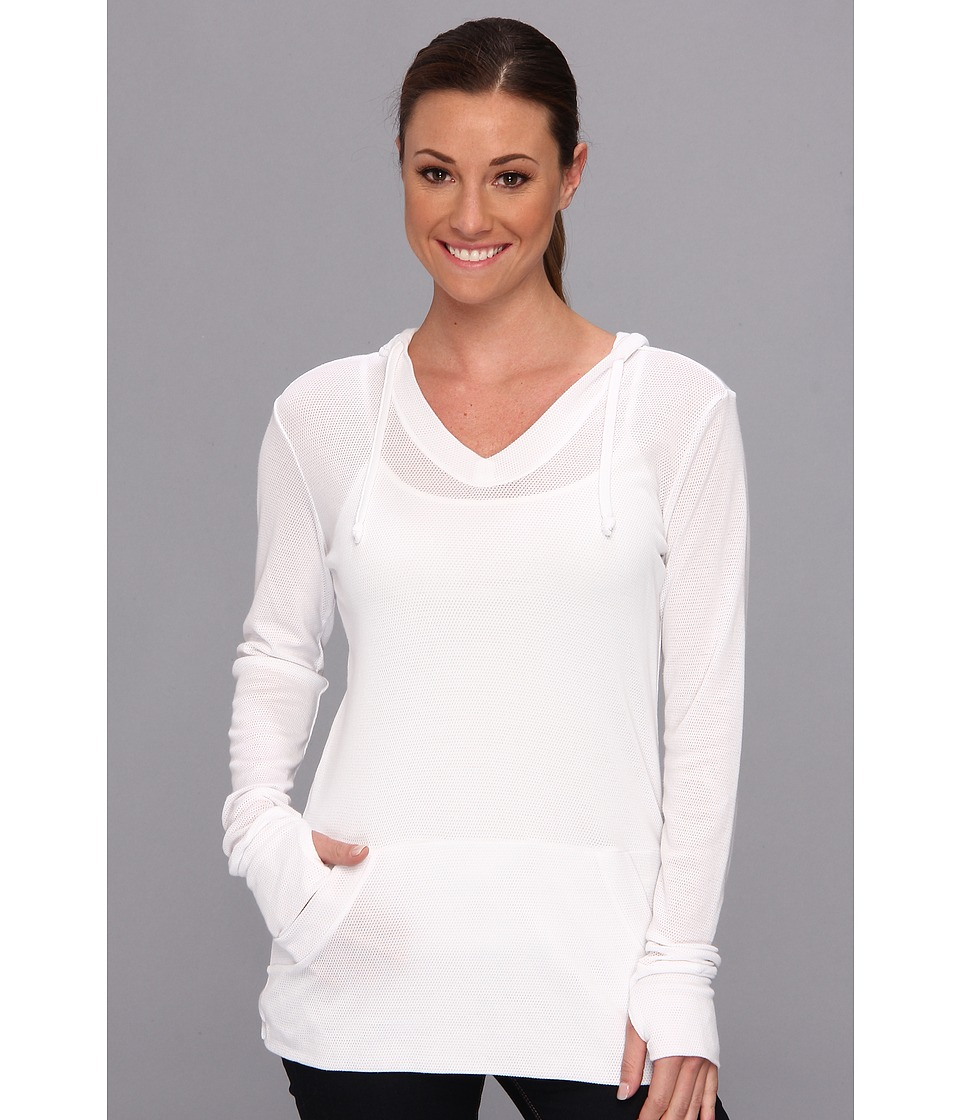 ExOfficio - BugsAway Lumen Hoodie (White) Women's Sweatshirt