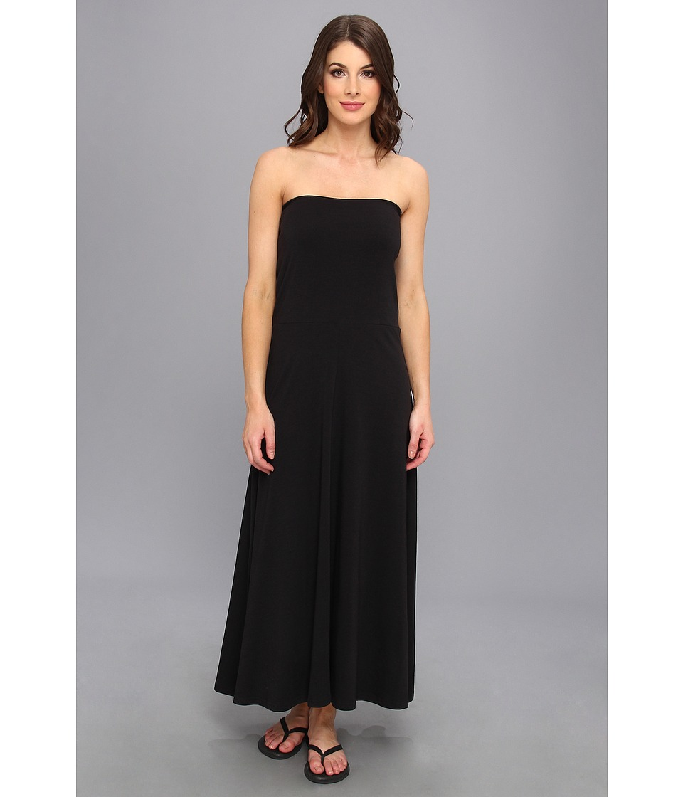 ExOfficio - Go-To Maxi Skirt (Black) Women's Dress