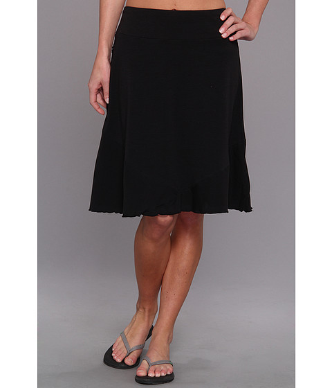 ExOfficio - Go-To Solid Skirt (Black) Women