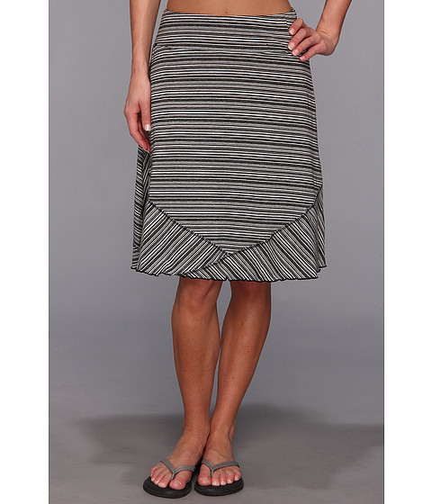 ExOfficio - Go-To Stripe Skirt (Black/White) Women