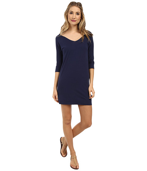 Lilly Pulitzer - Eliza Dress (True Navy) Women's Dress