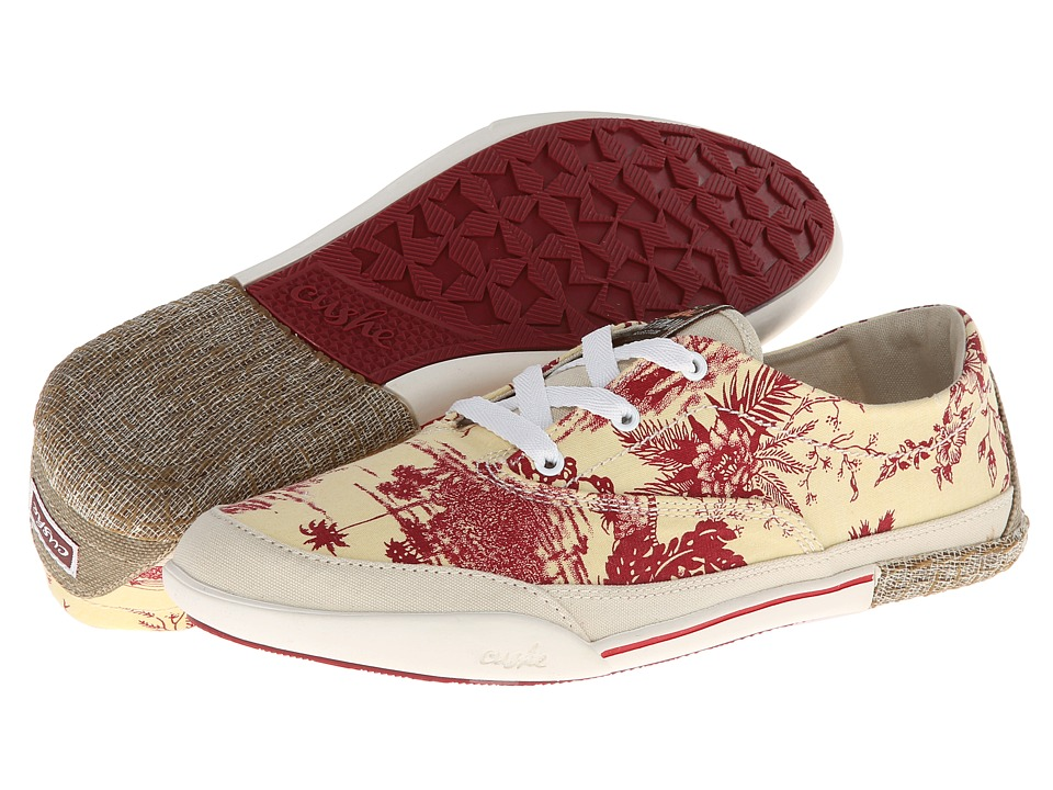 Cushe - Ropewalk (Off White/Red) Women