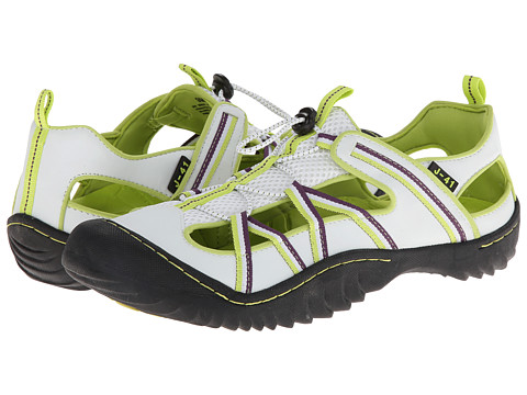 41 - Sea-Breeze (White/Kiwi/Purple) Women s Shoes