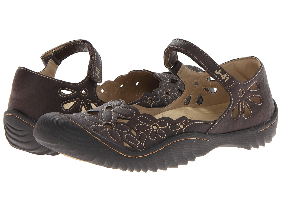 J-41 - Lotus (Brown) Women's Shoes