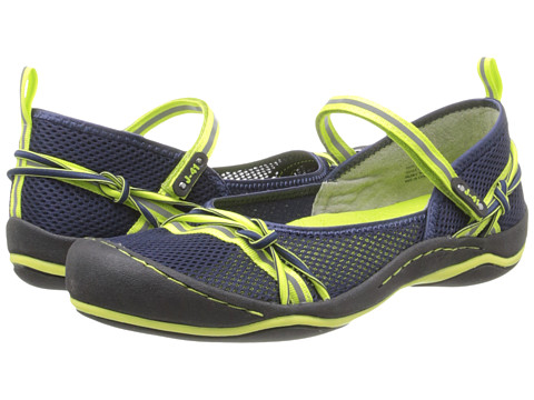 J-41 - Misty (Navy/Kiwi) Women's Shoes
