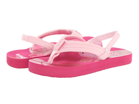 Reef Kids - Little Ahi (Infant/Toddler/Little Kid/Big Kid) (Pink Crayon) Girls Shoes