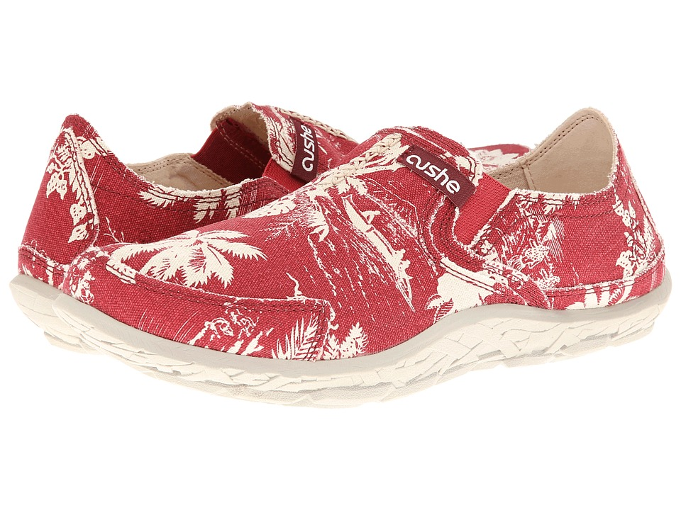 Cushe - Cushe M Slipper (Red/Off White) Men's Slip on Shoes