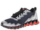Reebok Zigultra Crush (Black/Pure Silver/China Red/Steel) Men's Running Shoes