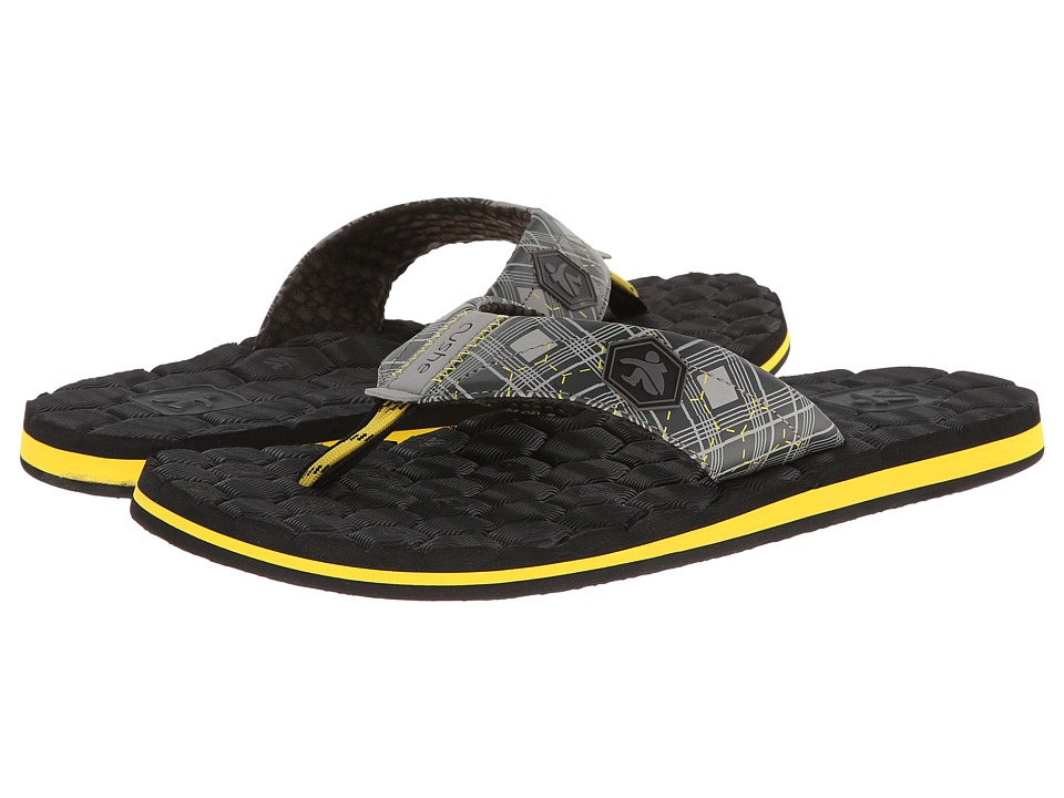 Cushe Flipside (Grey/Yellow) Men