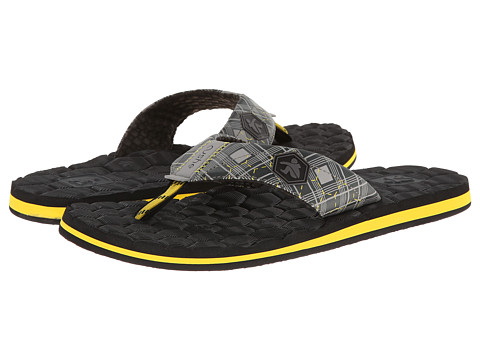 Cushe - Flipside (Grey/Yellow) Men's Sandals