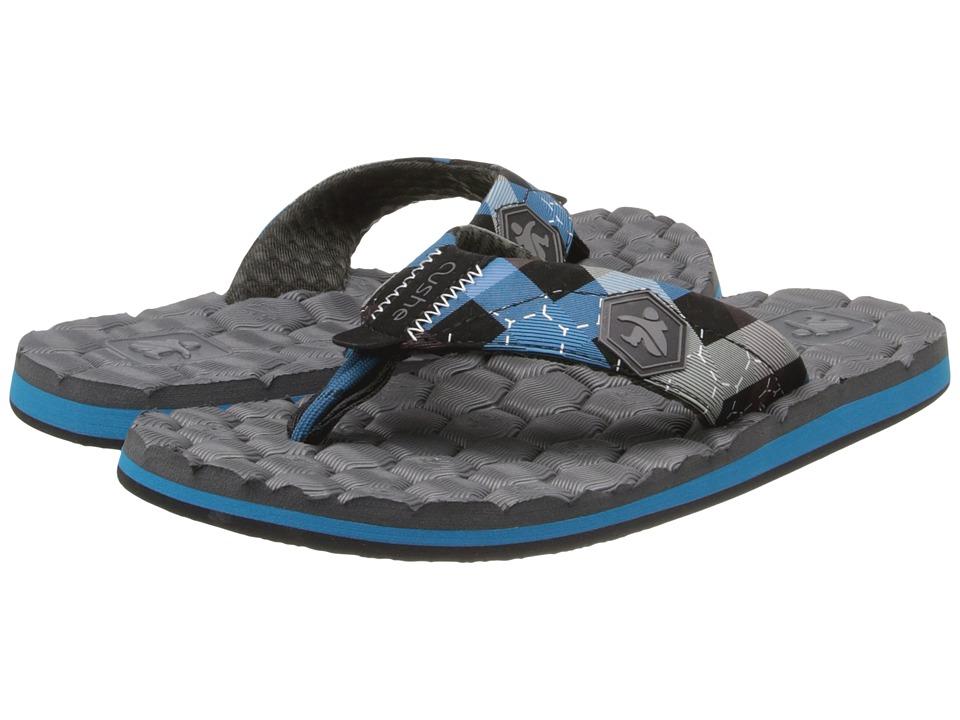 Cushe - Flipside (Charcoal/Blue) Men's Sandals