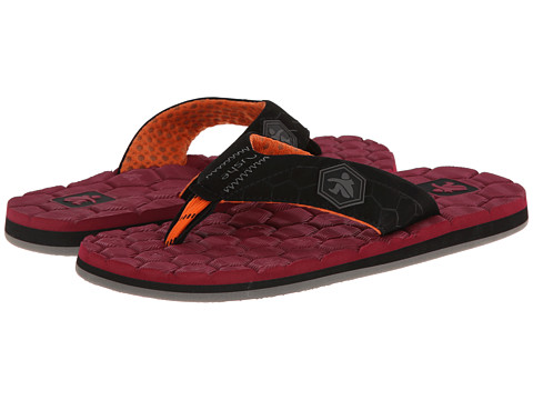 Cushe - Flipside (Red/Black) Men's Sandals