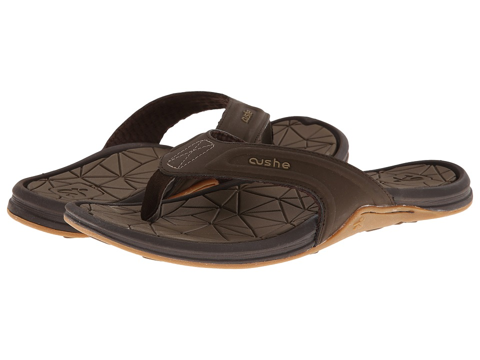 Cushe - Manuka Spindrift (Dark Brown) Men's Sandals