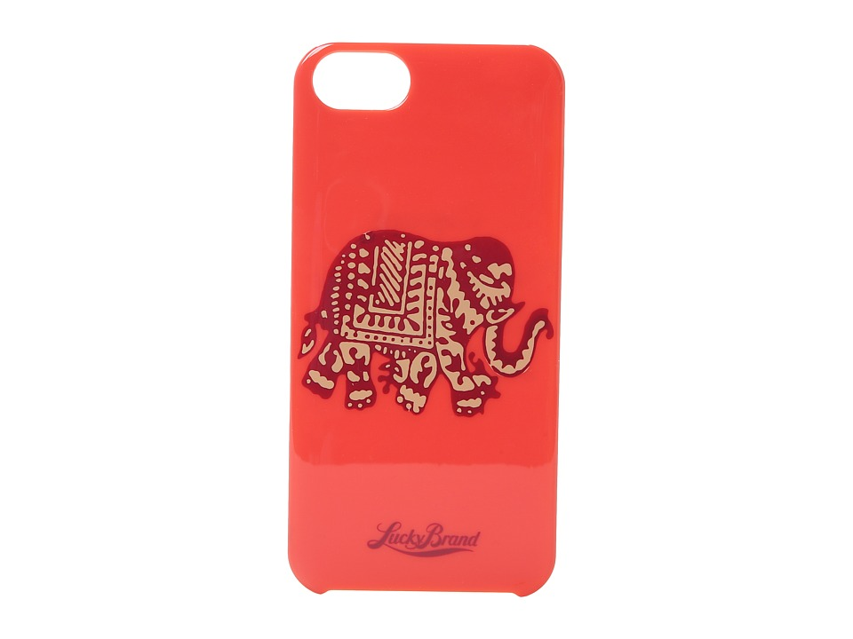 Lucky Brand - Red Elephant Phone Case (Red) Cell Phone Case