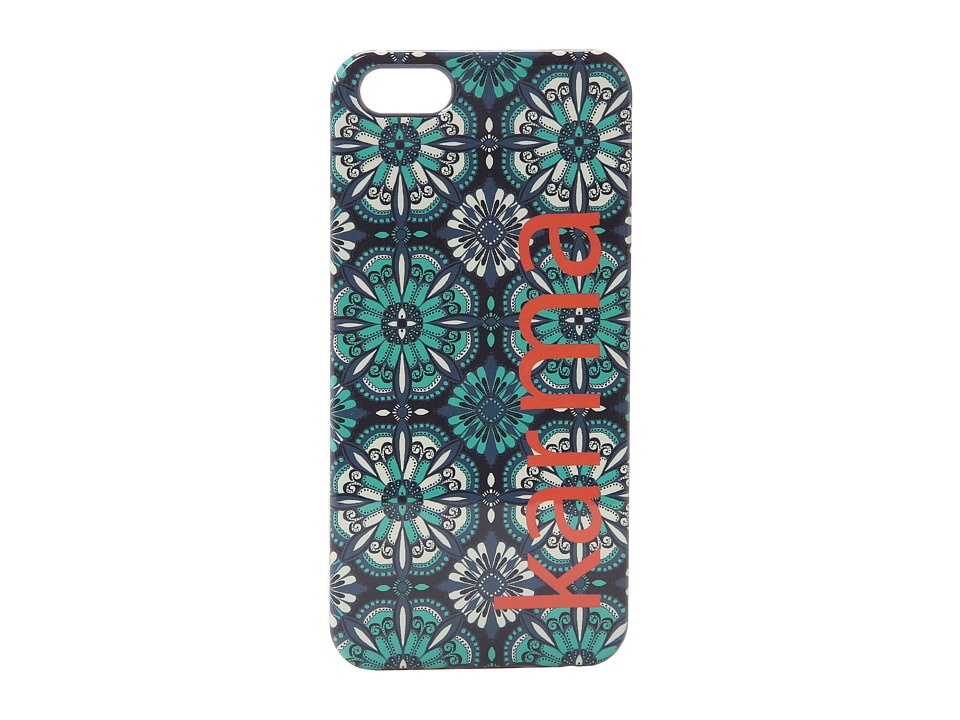 Lucky Brand - Karma Phone Case (Blue) Cell Phone Case