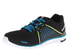 Reebok Realflex Scream 4.0 (Black/Conrad Blue/Neon Yellow/White) Men's Running Shoes