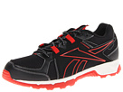 Reebok Dirtkicker Trail (Black/China Red/Chalk) Men's Running Shoes
