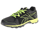 Reebok Dirtkicker Trail (Gravel/Black/Primal Green/Neon Yellow) Men's Running Shoes