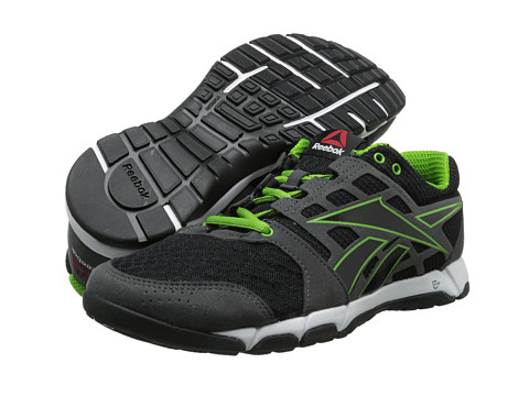 Reebok Reebok One Trainer 1.0 (Black/Gravel/Chalk/Green Smash) Men's Cross Training Shoes