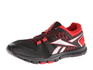 Reebok Yourflex Train RS 4.0 (Black/Stadium Red/Pure Silver) Men's Cross Training Shoes