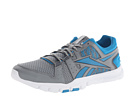 Reebok Yourflex Train RS 4.0 (Flat Grey/Conrad Blue/Graphite/Athletic Navy/Street) Men's Cross Training Shoes