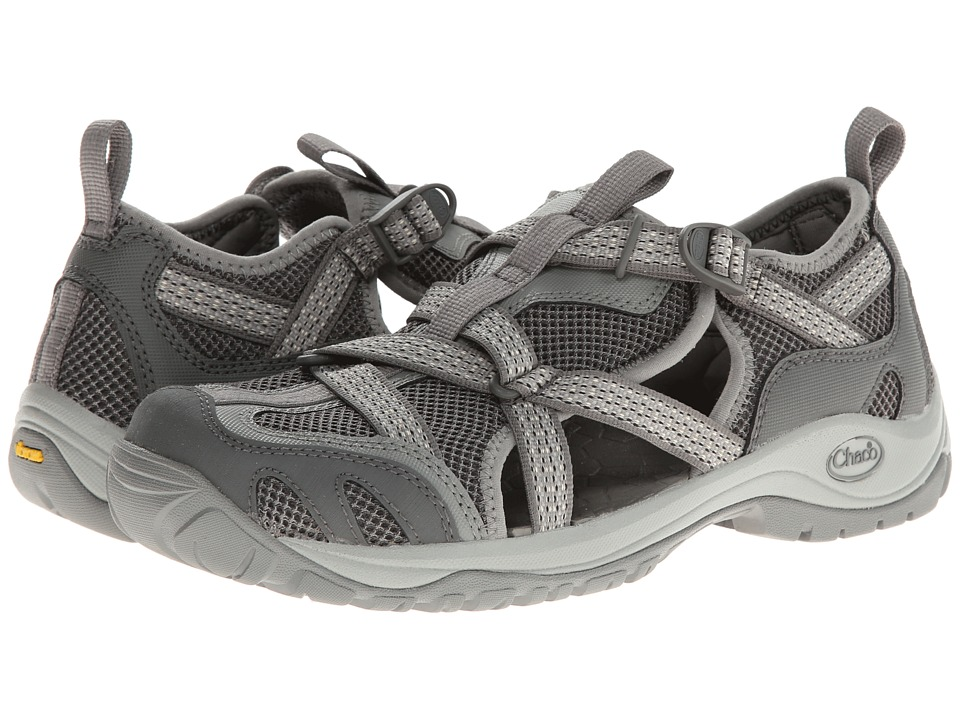 Chaco - Outcross Web (Steel/Stealth Gray/Stealth Gray) Women