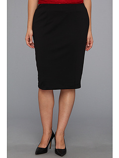 SALE! $21.99 - Save $46 on Kiyonna Curvy Pencil Skirt (Black) Apparel - 67.66% OFF $68.00